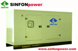 Conjunto de Gerador eléctrico de gasóleo (SDG120)