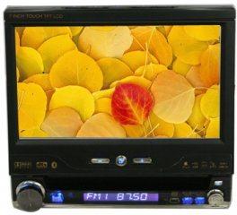 """7 """" 1 소음 DVD 플레이어 + 접촉 스크린 또는 Bluetooth/TV/GPS (JBY-7685G)"""