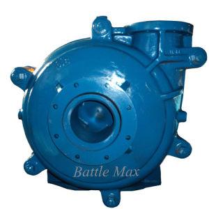 One-Stage pompe centrifuge à usage intensif de lisier avec garniture en caoutchouc (8x6F-HCR)