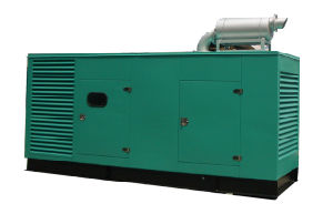 Cummins-lärmarmer Generator 343kVA (HCM343)
