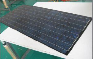 130watt Polycrystalline Zonnepaneel met Zwart Kader