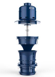 Электрический вертикальный турбины насоса