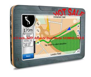4.3 Zoll GPS-Navigation mit FM, BT, Avin Mittlere Osten-Diagramm