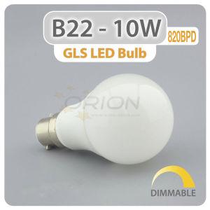 Boa escolha de iluminação doméstica de alumínio de plástico E27 220V LED das luzes de lâmpada de 9 W