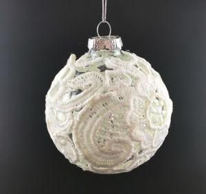 木(LCP-A-0002)のガラス玉が付いているクリスマスの装飾
