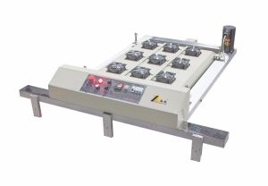 Spt 시리즈 자동적인 평상형 트레일러 스크린 인쇄 기계 EVA 슬리퍼