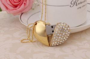 Свадебный подарок Diamond в форме сердечка USB 8 ГБ 16ГБ