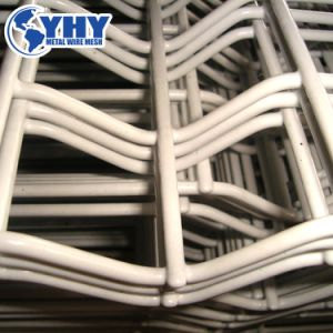 10のゲージの黒い溶接された鉄条網の網パネル