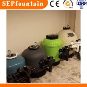 Filtración de piscina y la circulación de agua Filtro de arena