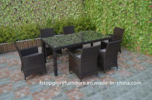 Viro PE плетеной диван таблица комплект садовой мебелью