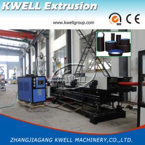 Gran Drenaje de agua de PVC de doble pared de la línea de extrusión de tubo corrugado