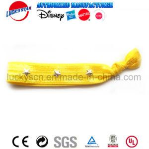 5 Stuk speelgoed van de Hoofdband van de Armbanden van de Band van het Haar van PCs het Kleurrijke Elastische