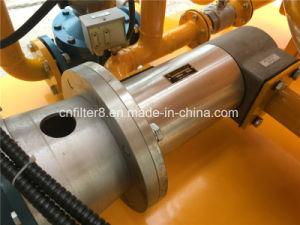 En las instalaciones completamente automática de aceite del transformador de alto vacío (ZYD purificador-100)