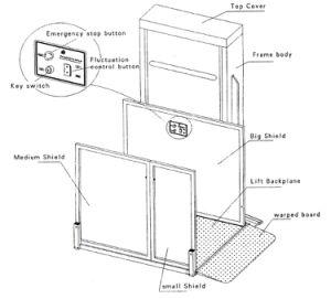 山東Tavolのハンディキャップのための小さいホーム油圧エレベーターの上昇