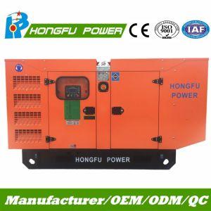 50kw Diesel van het Type van Macht van 63kVA Cummins de Super Stille Reeks van de Generator