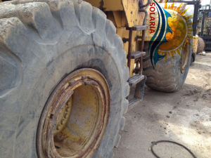 Caricatore del trattore a cingoli di seconda mano/usato 966g della rotella per l'originale Giappone del caricatore del gatto 966h 966f della costruzione