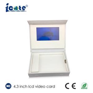 De Prijs van de fabriek LCD van 4.3 Duim de Video VideoDoos van /Business van de Doos/de VideoDoos van de Gift met Uitstekende kwaliteit
