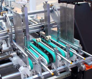Applicateur Gluer équipé sur le dossier de boîte de forme spéciale de former (GK-1100GS)