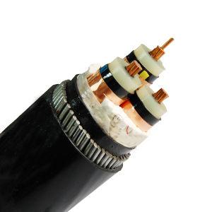 Среднего напряжения 15 кв XLPE изоляцией бронированные кабель питания