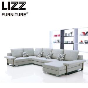 Forme En U De Haute Qualité Confortable Canapé En Tissu Forme En U