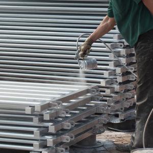Heiße eingetauchte galvanisierte Stahlziege-Zaun-Panels