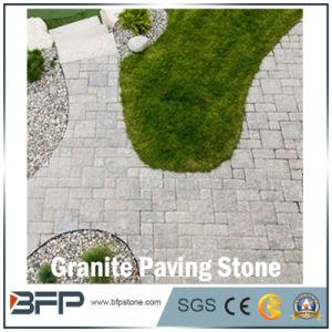 Dalles de pavage de granit naturel de la pierre pour jardin, à l ...