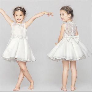 RetailのためのPure Yarn Lace BackのKd1062 Summer Fantastic Lace Little Princess Dresses Sleeveless Tutu Dresses Evening Gowns Dress