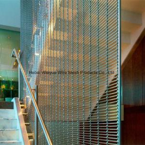 Корпус из нержавеющей стали из декоративной проволочной сетки для наружной стены/фасады/потолочные украшения