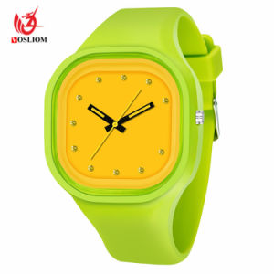 Relojes de alta calidad Custom Jelly Watch Silicon Watch -V172.
