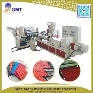 PVC+PMMA/ASA kleurde de Verglaasde Machine van de Tegel van de Rand van het Dak