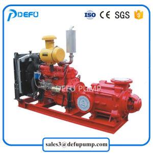 Alta pompa centrifuga a più stadi orizzontale capa dell'acqua di mare del motore diesel per la lotta antincendio