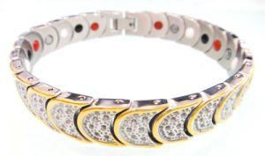 Germanium-Edelstahl Bracelet/Bangle (4 in 1)