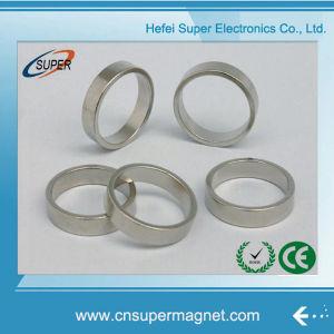 Никелированные 40*9-10мм NdFeB кольцевым магнитом