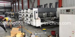 Flexo engranan & Die-Cuttingprinting automática máquina de cartón que