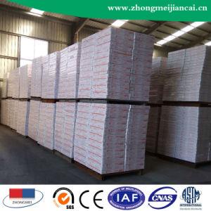 Placa de teto de gesso laminado de PVC com revestimento de alumínio238-8