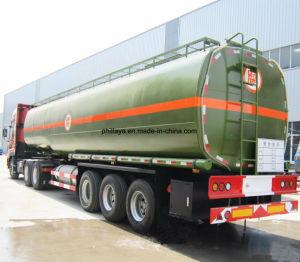 3 degli assi 45000liters del camion dell'autocisterna rimorchio chimico di olio combustibile semi