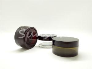 ペットプラスチックが付いている50ml装飾的な瓶