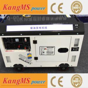 작은 디젤 엔진 발전기 세트 침묵하는 발전기 세트 8kw 10kVA 중국제 가정 백업 전력 공급