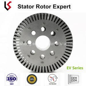 Od ID 145 99 72 25 ranuras del eje del rotor y estator sin escobillas de pila de estampado/CC Motor dc de laminación entrelazadas para scooter eléctrico y bicicleta