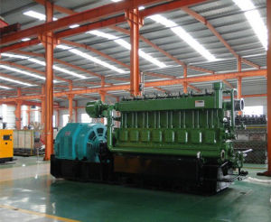350kw - 3MW石油精製所の不用なガスの発電機