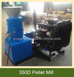 平らな22HPはディーゼル運転された生物量のペレタイザー、木製の造粒機を停止する