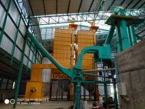 中国の熱い販売販売のためのバッチ水田のドライヤーの穀物乾燥機機械1台あたりの20トン