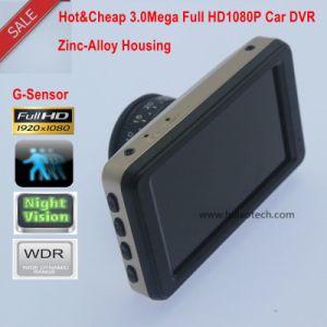 4G 렌즈를 가진 최신 & 싸게 3.0  가득 차있는 HD1080p 차 사진기; 1 IR LED; 2.0mega Ov 2720 CMOS DVR-3003