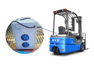 24V 350un cargador de baterías de montacargas Suministro de energía con RoHS, ISO