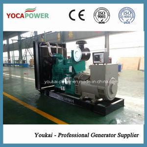 520kw/650kVA gerador Diesel Cummins resfriado a água definido