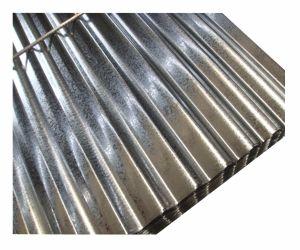Toiture en acier galvanisé à chaud Feuille de feux de croisement