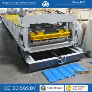 Toit de tôle en acier ondulé Panneau mural prix d'usine Rollformers carrelage vitrifié machine à profiler avec la norme ISO9001/ce/SGS/Soncap