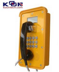 Van het Communicatie van de vandaal de Bestand GSM van de Telefoon SLOKJE van de Apparatuur Sos Telefoon van de Noodsituatie
