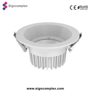 Montagem em superfície de 100-240 V COB 4 polegadas Downlights LED 12W tecto LED