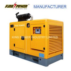 130kVA gerador de gás natural silenciosa aplicada na Rússia com DS9610b